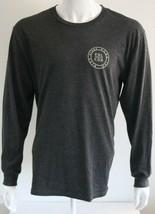 Volcom Power & Light Mens Graphic Tee Gray Cotton Blend T-Shirt Size L - $26.72
