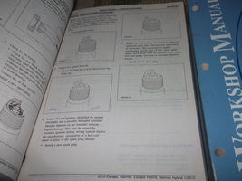 2010 Ford Escape Mercury Mariner & Hybrid Service Shop Repair Manual SET OEM image 5