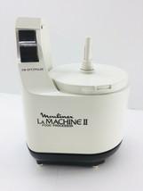 xMoulinex La Machine II Food Processor Base Motor 588 Working Replacemen... - $24.88