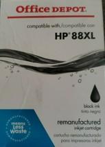 Office Depot ~ HP 88XL ~ BLACK Ink Cartridge ~ OfficeJet Pro ~ NIP - $10.30