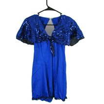 Curtain Call Costumes Women's Size Med Blue Sequin Dress  - $24.95
