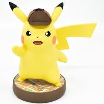 Nintendo Detective Pikachu Pokemon Amiibo Loose Character Figure