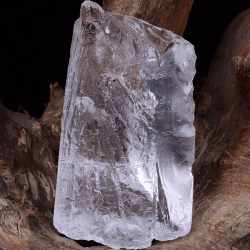 Himalaya Nirvana Quartz Natural Interference Crystal Point Specimen 2.4oz 2.5in
