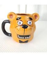 Five Nights At Freddy's Fazbear Molded Ceramic Mug With Damage - $28.87