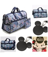 LeSportsac Disney Vacation Paradise Large Weekender Minnie Mickey Mouse NWT - $145.00