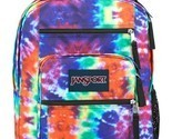 """JANSPORT BIG STUDENT Tie-Dye Adult/Youth 34L 17.5"""" School or Travel Backpack $64"""