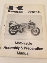 Kawasaki General Motorcycle Assembly & Preparation Manual 99931-1311-01 - $9.99