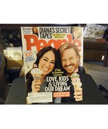 People Magazine - Fixer Upper's Chip & Joanna Gaines Cover - July 3, 2017 - $7.34