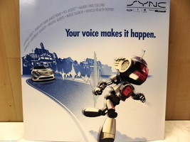10, 2010 Ford Lincoln Mercury SYNC By Microsoft Unused Dealer Brochure - $16.31