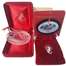 Waterford Crystal The Joys of Winter - Sleighride 1999 Christmas Ornament - 2nd - $24.70