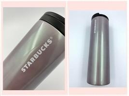 Starbucks Stainless Steel Tumbler Vacuum Insulated 16 oz Mug Cup 2012 Pe... - $32.18