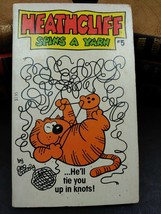 Heathcliff Spins a Yarn #5 1983 Paperback Comic Book ETVB - $4.49