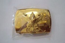 Garuda Thai Air Force belt buckle Soldier gold color RTAF Collectible Militaria - $17.63