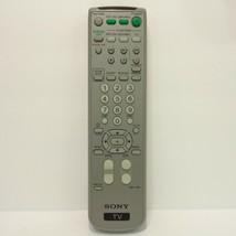 Sony RM-Y195 TV Remote CDPCX53, KV21FA310, KV32FS120, KV36FS320, KV38FS120 - $10.39