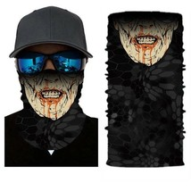 Crazy Zombie Vampire Face Mask Bandanas Headband Neckwarme Headwear - $4.94