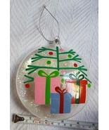 Clear See Through Christmas Xmas tree holiday season Ornament Home decor... - $9.46