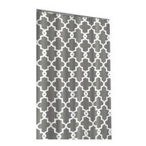 Simple Brief Waves Geometric Print Shower Curtains Waterproof Bathroom Curtains  - $31.00
