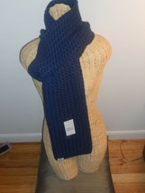 """UGG® Australia Cardy Large Cable Stitch Scarf 80"""",Navy MSRP $149 - $74.81"""
