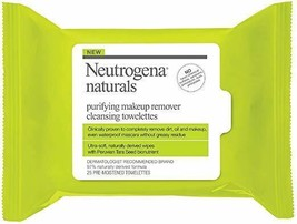 Neutrogena Naturals Purifying Makeup Remover Facial Cleansing Towelettes with Pe - $6.79