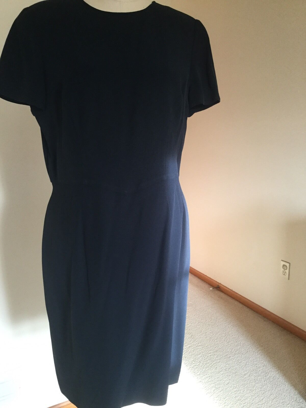 Armani dress,US Size 12,Navy,Short sleeves, image 2