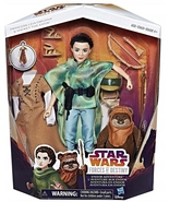 Star Wars Forces of Destiny Princess Leia and Wicket Endor Adventure ROT... - $16.95