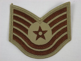 NEW USAF Desert Technical Sergeant E-6 Rank Patch - U.S. Air Force - $4.99