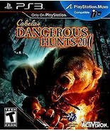 Cabela's Dangerous Hunts 2011 (Sony PlayStation 3, 2010) Brand New - $9.02