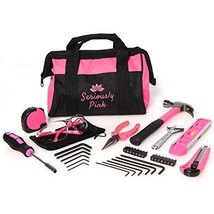 SP34PKT – SERIOUSLY PINK HOUSEHOLD HAND TOOL KIT - $56.69