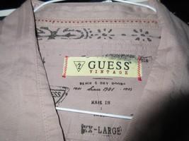 Guess , Men's Long Sleeve Shirt , XX-Large , 100% Cotton - $34.65