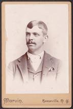 Frank Potter Cabinet Photo - Keeseville, New York - $17.50
