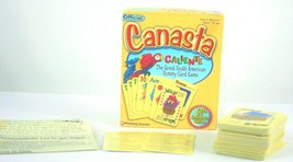 Canasta Caliente Official Version 2000 Rummy Card Game Complete Spanish ... - $24.09
