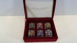 Crystal Legend Set Of 6 Glass Presents Gifts by Godfinger  - $14.79