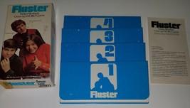 VTG 1973 Fluster Parker Brothers Cross-up Word Game COMPLETE Instructions 4 Pads - $17.37
