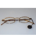 Jimmy Crystal New York GL180 Swarovski Reading Glasses Light Colorado To... - $59.99