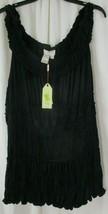 Max Studio Specialty Products Black Tank  Shirt Ladies Sz 3X MSRP $78 - $32.66