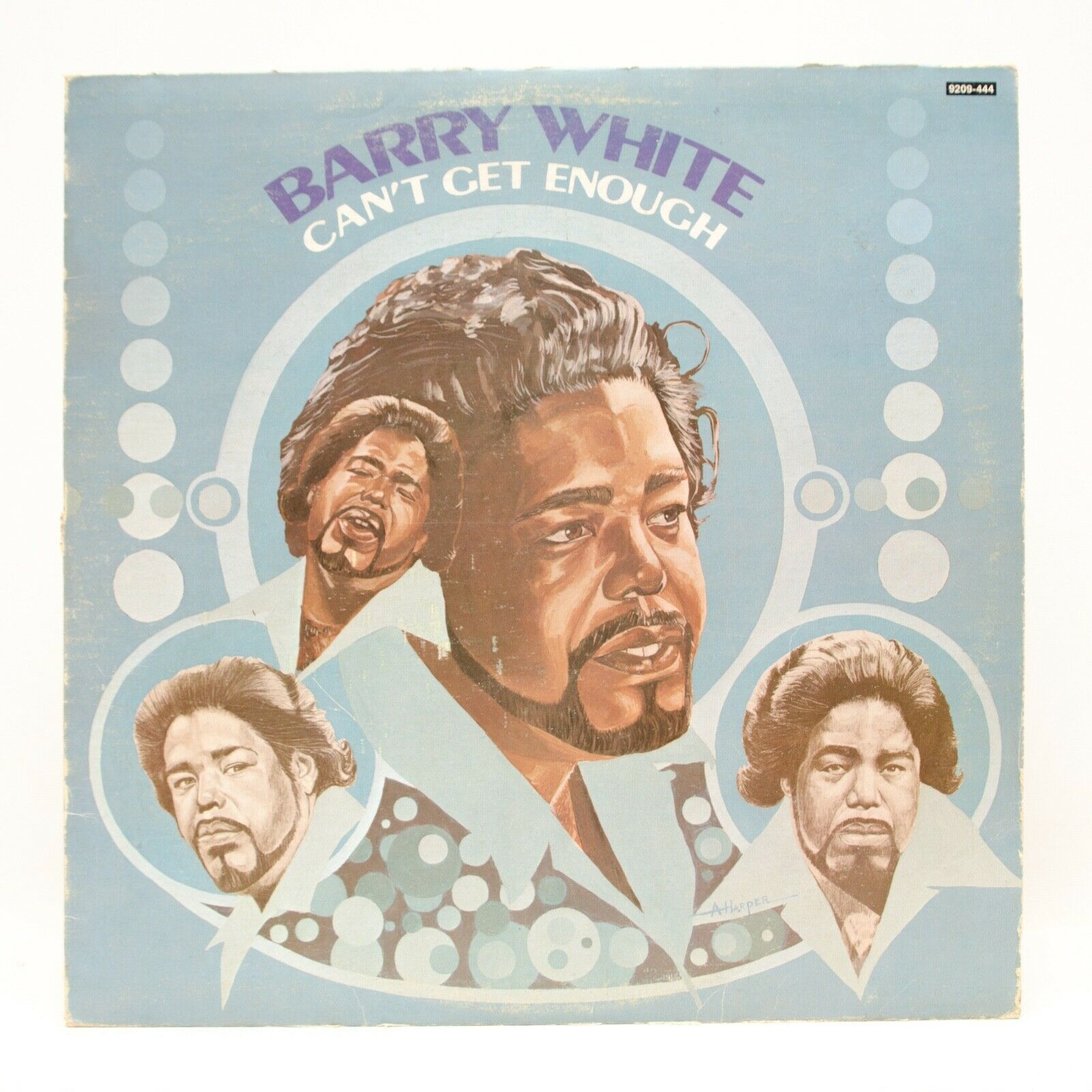 Primary image for Barry White Can't Get Enough LP Vinyl Album Record 1974 20 Century 9209-44