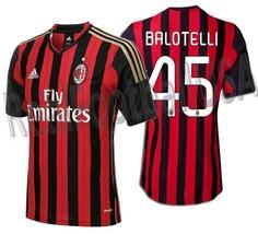 Adidas Mario Balotelli Ac Milan Home Jersey 2013/14. - $130.00