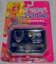 "Vintage 1986 Mattel Jewel Secrets Barbie Jewelry Set ""The Silver Collect... - $21.99"