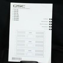 QSC Autio Amplifers ISA Manual - $10.29