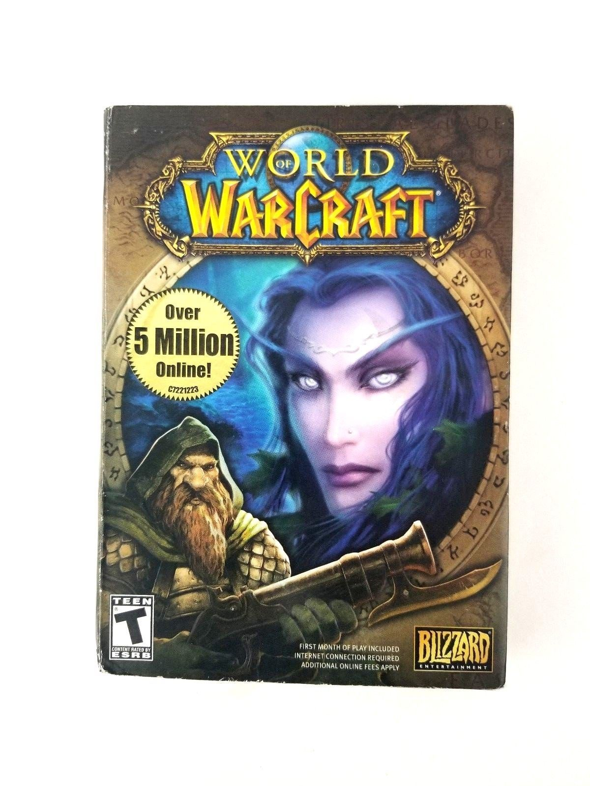 World of Warcraft PC Game for Windows 2000 XP & Mac Blizzard Entertainment New