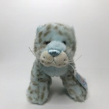 Ganz Webkinz HM696 Icy Mist Leopard Beanie Plush Stuffed Animal With Sea... - $18.69