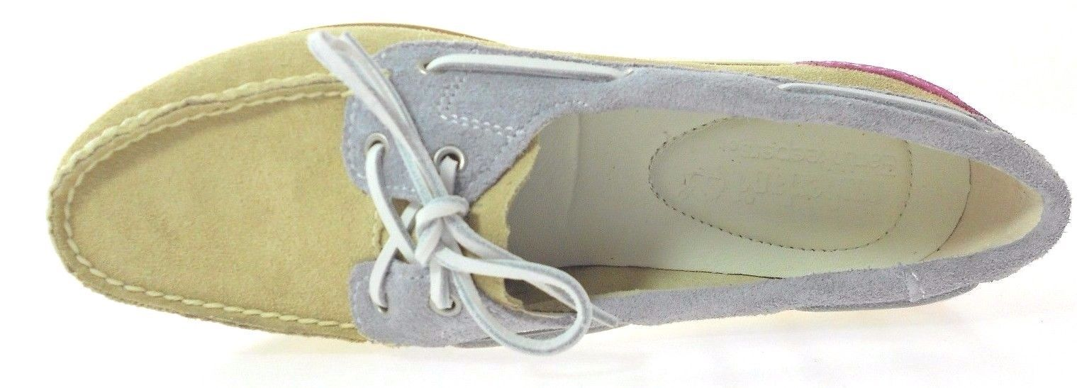 TIMBERLAND 8018B CLASSIC WOMEN'S SUEDE BOAT SHOES