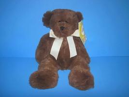 "2010 Circo Target Animal Adventure Brown Teddy Bear Plush Bean Bag Toy 12"" - $14.85"