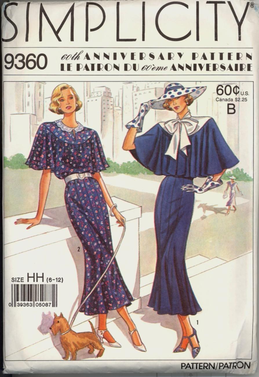 Auction 990 s 9360 30s blue dress 6 12 1988 unc