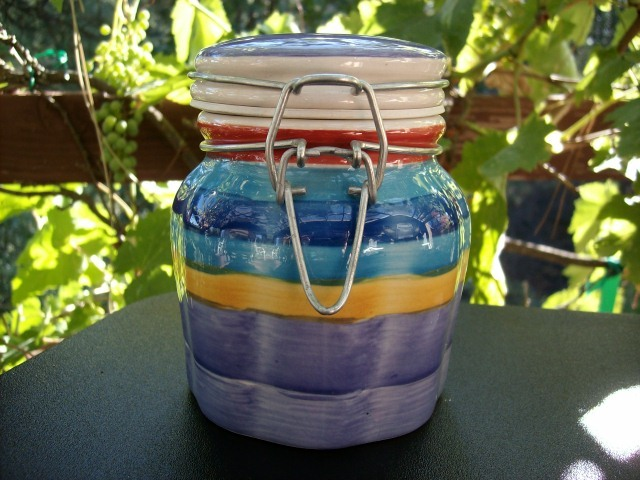 where to buy kitchen canisters multi colored ceramic kitchen canister with gasket nice canisters jars 4484