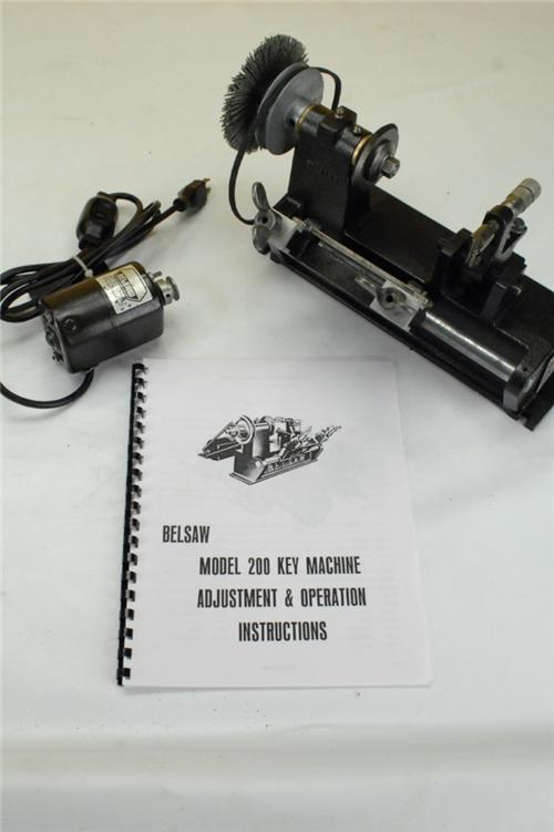 foley belsaw model 200 key machine manual pdf