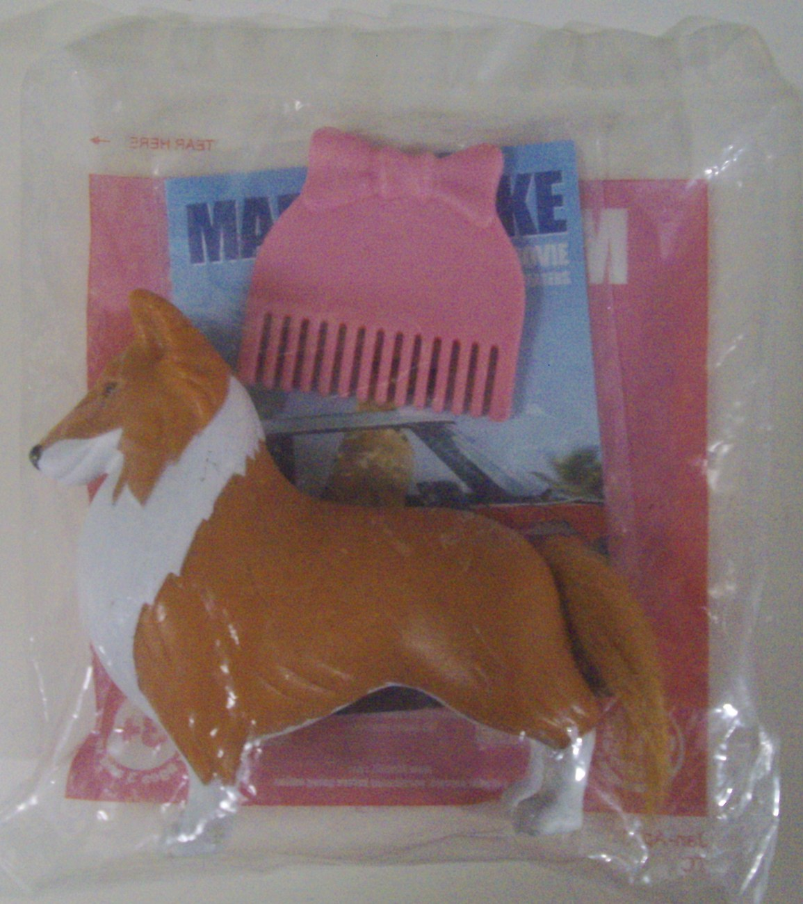 Marmaduke The Movie Comb 'N Style Jezebel BK dog toy - New
