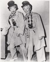 I Love Lucy Lucille Ball Harpo Marx Vintage 11X14 BW TV Memorabilia Photo - $12.95