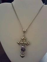 Unique Cross Necklace - $10.00