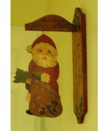 Merry Christmas Santa Clause Wooden Wall Hangin... - $34.99